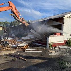 demolition in auckland